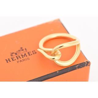 エルメス(Hermes)のエルメス・スカーフリング。指輪、リングとしても♪バーキンケリーガーデン同時出品中(リング(指輪))
