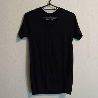 ムジルシリョウヒン(MUJI (無印良品))の無印の無地ブラックTシャツ(Tシャツ(半袖/袖なし))