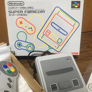 スーパーファミコン(スーパーファミコン)のニンテンドー クラシック ミニ スーパー ファミコン(家庭用ゲーム本体)