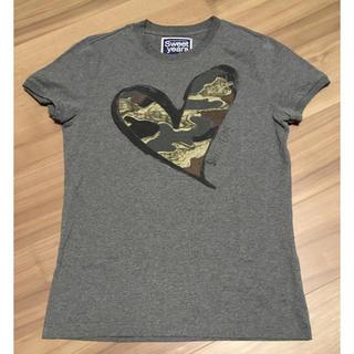 スウィートイヤーズ(SWEET YEARS)の美品sweet years Tシャツ サイズS(Tシャツ/カットソー(半袖/袖なし))