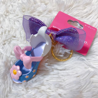 ディズニー(Disney)のデイジー シューズ 靴 キーホルダー(キャラクターグッズ)