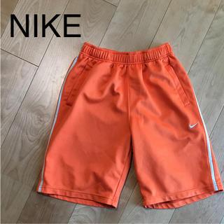 ナイキ(NIKE)の★ NIKE ナイキ M レディース ジャージ ハーフパンツ オレンジ(ハーフパンツ)