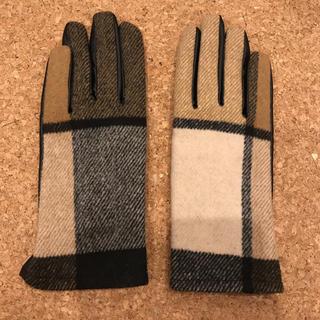 ザラ(ZARA)のzara バーバリーチェック風手袋(手袋)