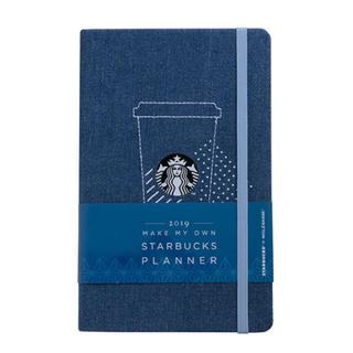 スターバックスコーヒー(Starbucks Coffee)のスターバックス 海外台湾 スタバxモレスキン 2019 手帳 デニム(カレンダー/スケジュール)