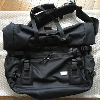 マスターピース(master-piece)のアッソブ メッセンジャー バッグ トート as2ov ブラック ショルダー(メッセンジャーバッグ)