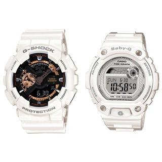 カシオ(CASIO)の新品 CASIO G-SHOCK babyG ペア腕時計 防水 海外モデル(腕時計(デジタル))