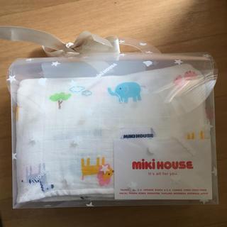 ミキハウス(mikihouse)のmiki houseマルチケット 新品未使用(おくるみ/ブランケット)