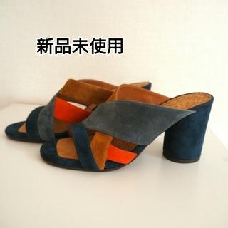チエミハラ(CHIE MIHARA)の新品未使用◆CHIE MIHARA UNIサンダル(サンダル)