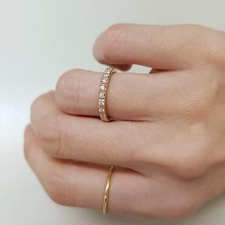 Avaron アヴァロン k18 ダイヤモンドリング ピンクゴールド(リング(指輪))