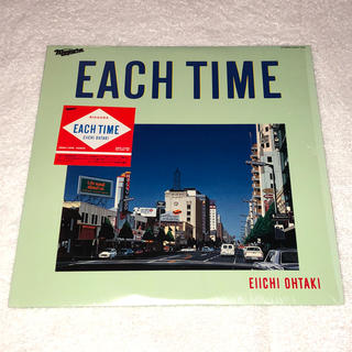大瀧詠一 EIICHI OHTAKI / EACH TIME (LP)(レコード針)