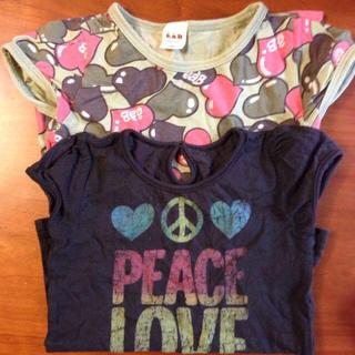 エーアーベー(eaB)のTシャツ(Tシャツ(半袖/袖なし))