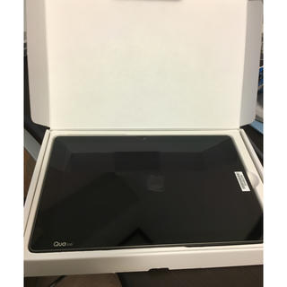 エルジーエレクトロニクス(LG Electronics)の【新品】Qua tab PZ LGT32(タブレット)
