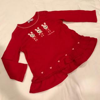 ミキハウス(mikihouse)の専用 90 ミキハウス☆うさこちゃん長袖Tシャツ(Tシャツ/カットソー)