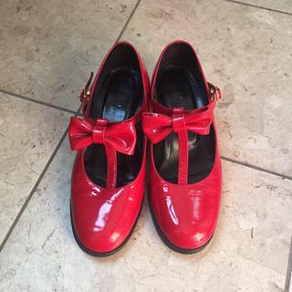 ミルク(MILK)のMILK⭐️赤い靴(ハイヒール/パンプス)