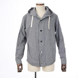 アンダーカレント(UNDERCURRENT)のアンダーカレント フードシャツ  M(シャツ)