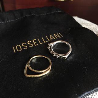 アッシュペーフランス(H.P.FRANCE)のイオッセリアーニ リング1本売り(リング(指輪))