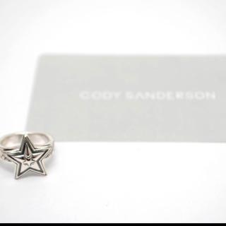 クロムハーツ(Chrome Hearts)のコディサンダーソン cody Sanderson タイニースターリング 8号(リング(指輪))