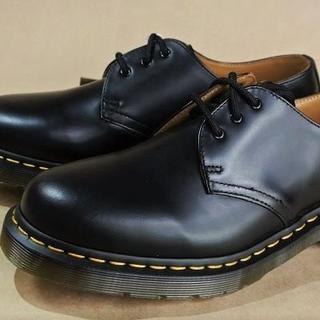 ドクターマーチン(Dr.Martens)のDr.Martens Shoe 本革黒 N.1461 UK7.0正規 (LA)(ブーツ)