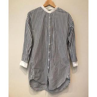 ムジルシリョウヒン(MUJI (無印良品))の無印良品  シャツ ワンピース ロング(シャツ/ブラウス(長袖/七分))
