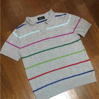 ザラ(ZARA)のZARA メンズ ニットポロシャツ(ポロシャツ)