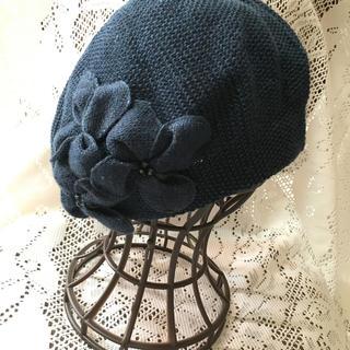 アンテプリマ(ANTEPRIMA)のアンテプリマ Flowerモチーフ ベレー帽(ハンチング/ベレー帽)