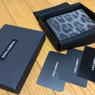 ドルチェアンドガッバーナ(DOLCE&GABBANA)のDOLCE&GABBANA ドルチェ&ガッバーナ 二つ折り財布(折り財布)