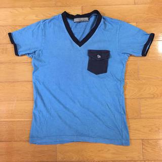 アユイテ(AYUITE)のインディゴ Tシャツ(Tシャツ/カットソー(半袖/袖なし))
