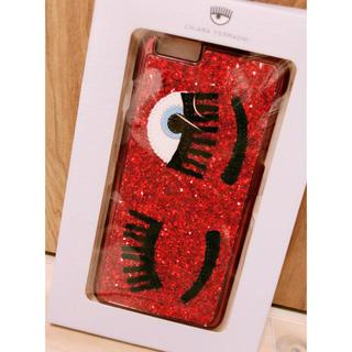 キアラフェラーニ(Chiara Ferragni)のキアラフェラーニ iPhone6/6s Plus ケース 赤(iPhoneケース)