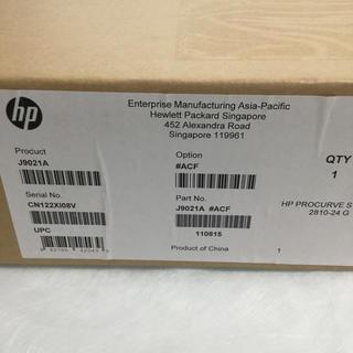 ヒューレットパッカード(HP)のHP J9021A 2810-24G Switch(新品・未開封品)(PC周辺機器)