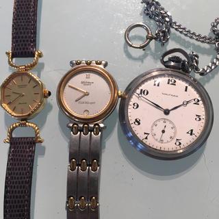 ウォルサム(Waltham)のWALTHAM ウォルサム 腕時計 2点  懐中時計 1点 セット(腕時計)