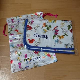 チェスティ(Chesty)の 【ぺこちゃん様専用】chesty ノベルティ ブランケット&巾着(その他)
