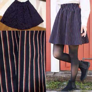 ローリーズファーム(LOWRYS FARM)のストライプ柄スカート(ミニスカート)