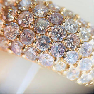期間限定!天然ピンクダイヤモンドパヴェリング(リング(指輪))