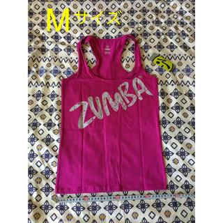 ズンバ(Zumba)の新品 ズンバ zumba ウェア タンクトップ M マルベリー(ダンス/バレエ)