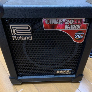 ローランド(Roland)のRoland CUBE-20XL BASS (20W)(ベースアンプ)