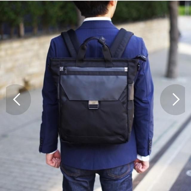 NOMADIC(ノーマディック)の多機能ビジネスバック 3WAY 防水 メンズのバッグ(ビジネスバッグ)の商品写真