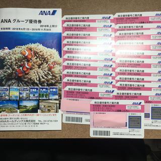 エーエヌエー(ゼンニッポンクウユ)(ANA(全日本空輸))のANA 株主優待 21枚(航空券)