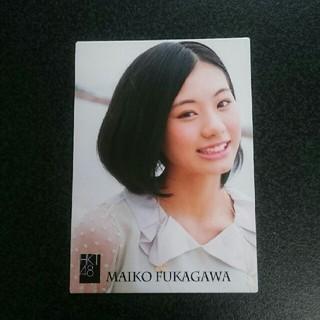 エイチケーティーフォーティーエイト(HKT48)のHKT48 深川舞子 2013 トレカ R145N(アイドルグッズ)