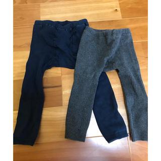 ムジルシリョウヒン(MUJI (無印良品))のレギンス 80〜90(靴下/タイツ)