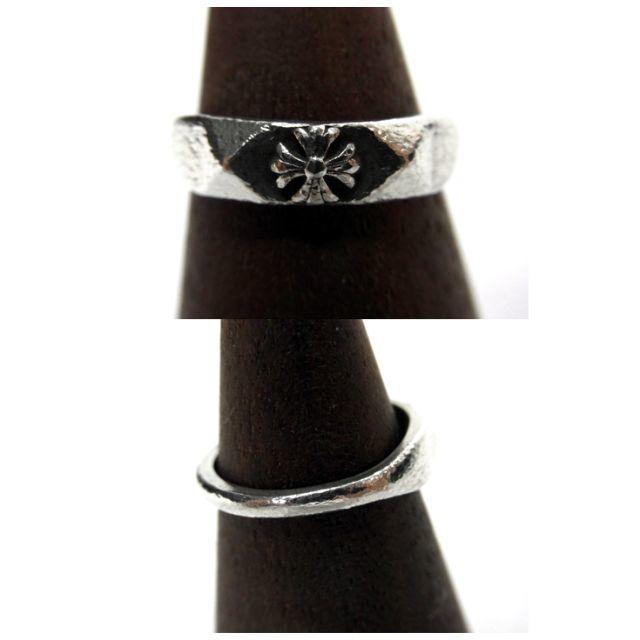Chrome Hearts(クロムハーツ)のクロムハーツCHROMEHEARTS■バブルガムピラミッドプラスシルバーリング メンズのアクセサリー(リング(指輪))の商品写真