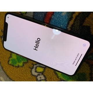 アップル(Apple)の【極上品】 Apple iPhone X 256GB 国内版SIMフリー (スマートフォン本体)