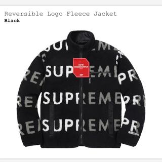シュプリーム(Supreme)の最安値! Supreme Reversible Logo Fleece 黒M(ブルゾン)