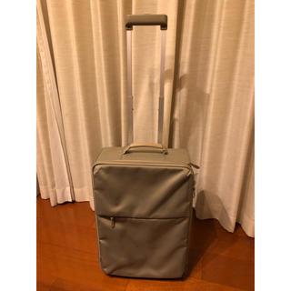 ムジルシリョウヒン(MUJI (無印良品))のスーツケース キャリーバッグ 無印 MUJI グレー(スーツケース/キャリーバッグ)