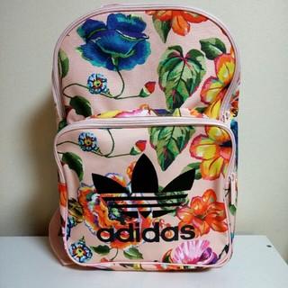 アディダス(adidas)のたろっぺ様専用 アディダスオリジナルス リュック 花柄 ピンク (リュック/バックパック)