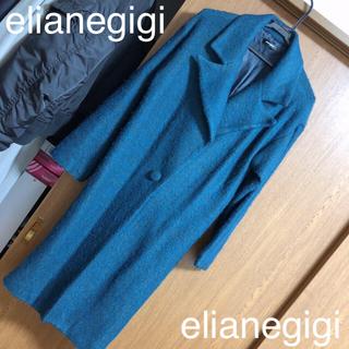 エリアーヌジジ(elianegigi)のelianegigi ロングチェスターコート(チェスターコート)