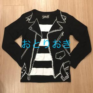 ショット(schott)のプリント 長袖Tシャツ(Tシャツ/カットソー)
