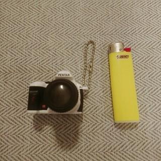 ペンタックス(PENTAX)のペンタックス一眼レフカメラストラップ非売品カプセルトイSR送料込ガチャガチャ(フィルムカメラ)