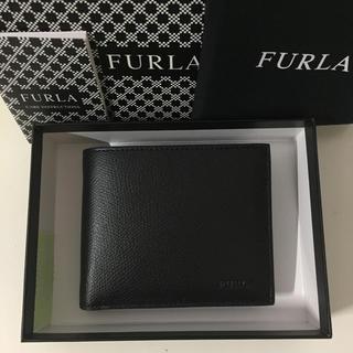フルラ(Furla)の新品未使用 FURLA フルラ メンズ 折り財布 アポロ ONYX(折り財布)