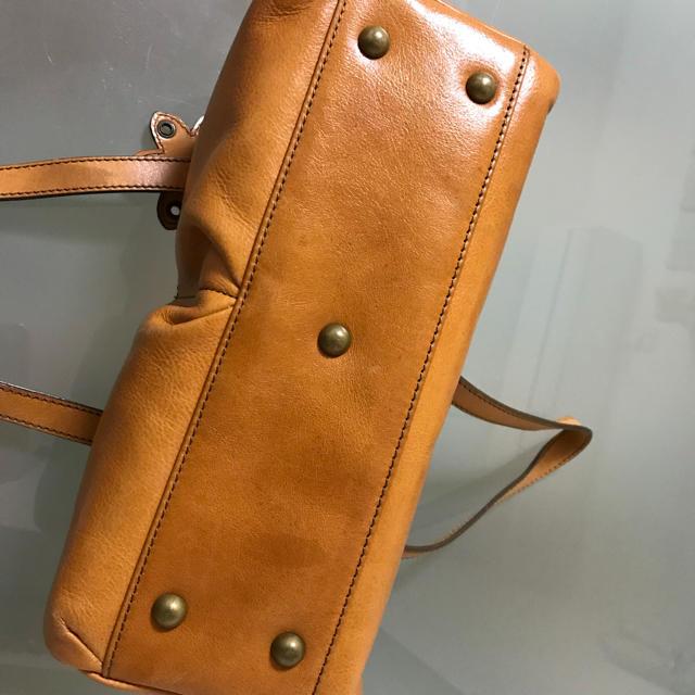 NOJESS(ノジェス)のNOJESS 牛革ハンドバッグ レディースのバッグ(ハンドバッグ)の商品写真