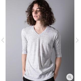 ガルヴァナイズ(Galvanize)のgalvanize ガルヴァナイズ Vネック 5分丈 Tシャツ M(Tシャツ/カットソー(半袖/袖なし))